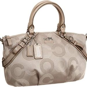 COACH Madison 15935 Tan/Beige Handbag